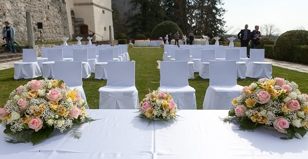 Civil wedding ceremony_Castle Strmol Slovenia - Castle wedding