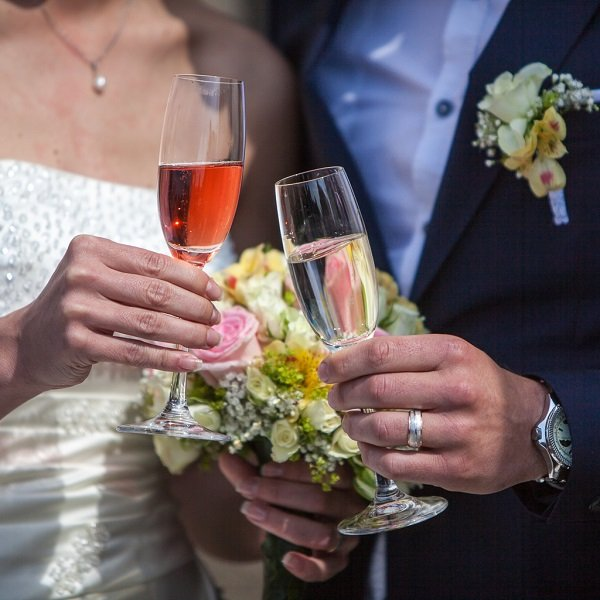 Wedding toast_Castle Strmol_Slovenia