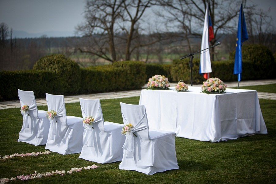 Countryside Castle wedding