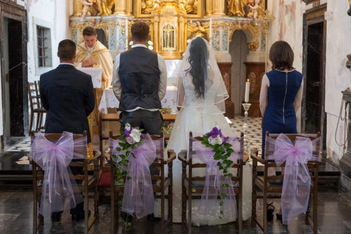 Church wedding location