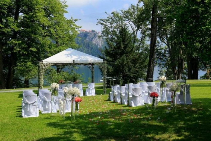Wedding in Hotel Vila Bled