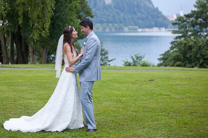 Wedding in Gardens of Vila Bled Photo