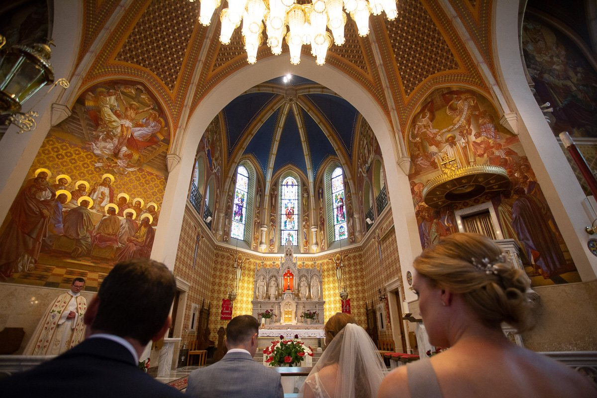 Lake Bled Church Wedding