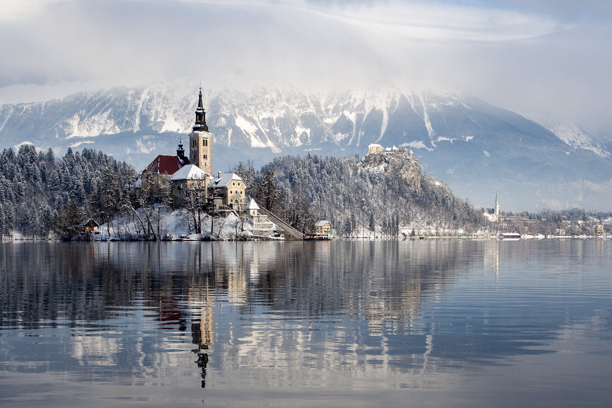 Elope to Lake Bled in winter
