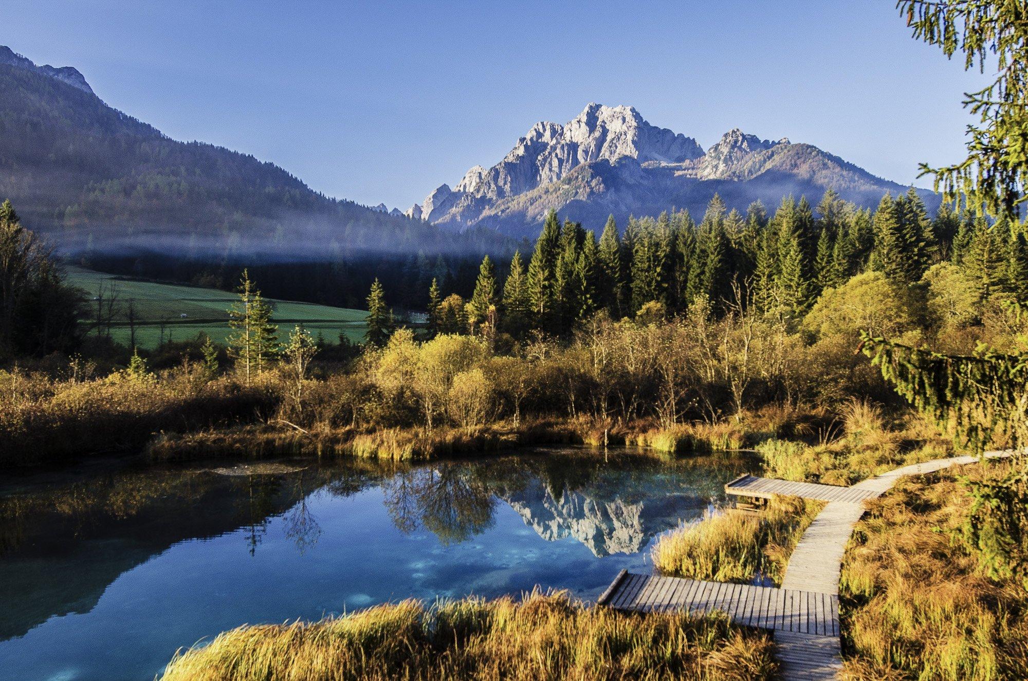 elope to slovenian mountains