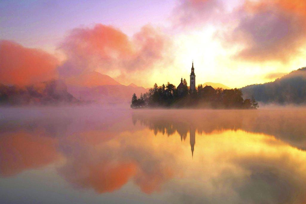 mystical Lake Bled