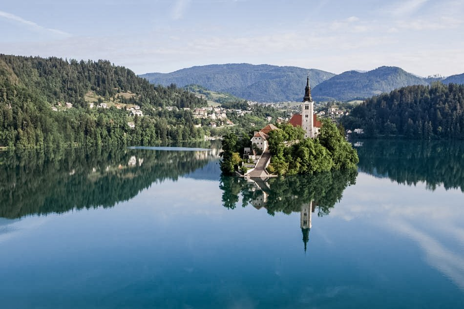 Wedding on Bled Island