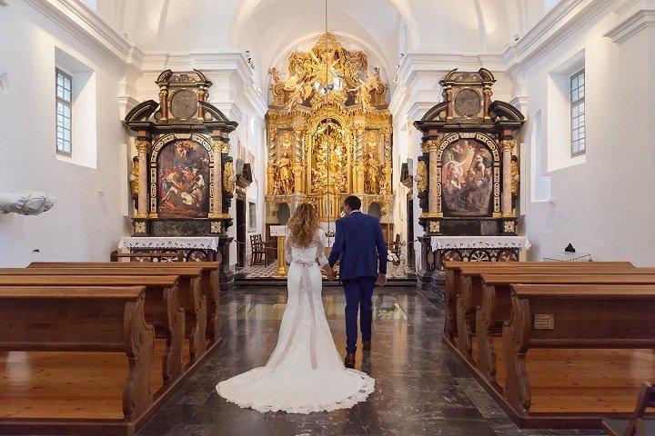 Wedding on Bled Island